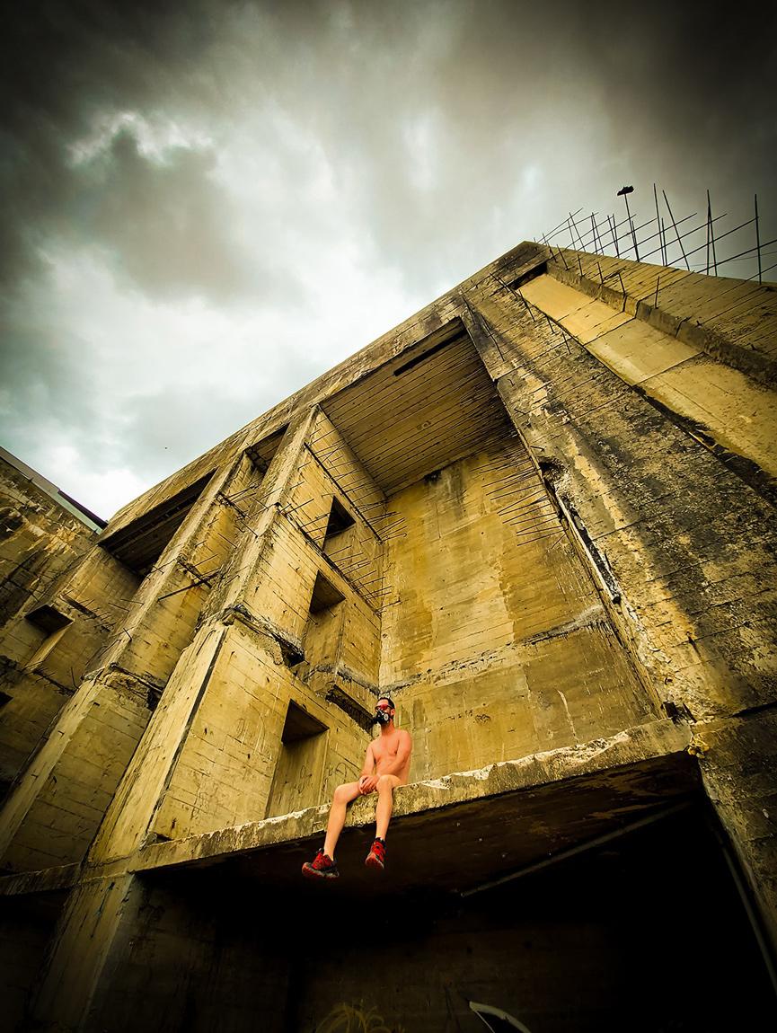 """Perspective, une photo de la collection """"Kataclysm_e ou les effets du cataclysme climatique"""" par Les Chevaliers Photographes."""