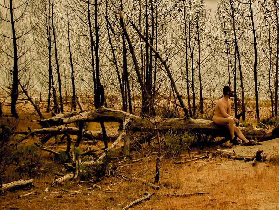 """Sécheresse, une photo de la collection """"Kataclysm_e ou les effets du cataclysme climatique"""" par Les Chevaliers Photographes."""