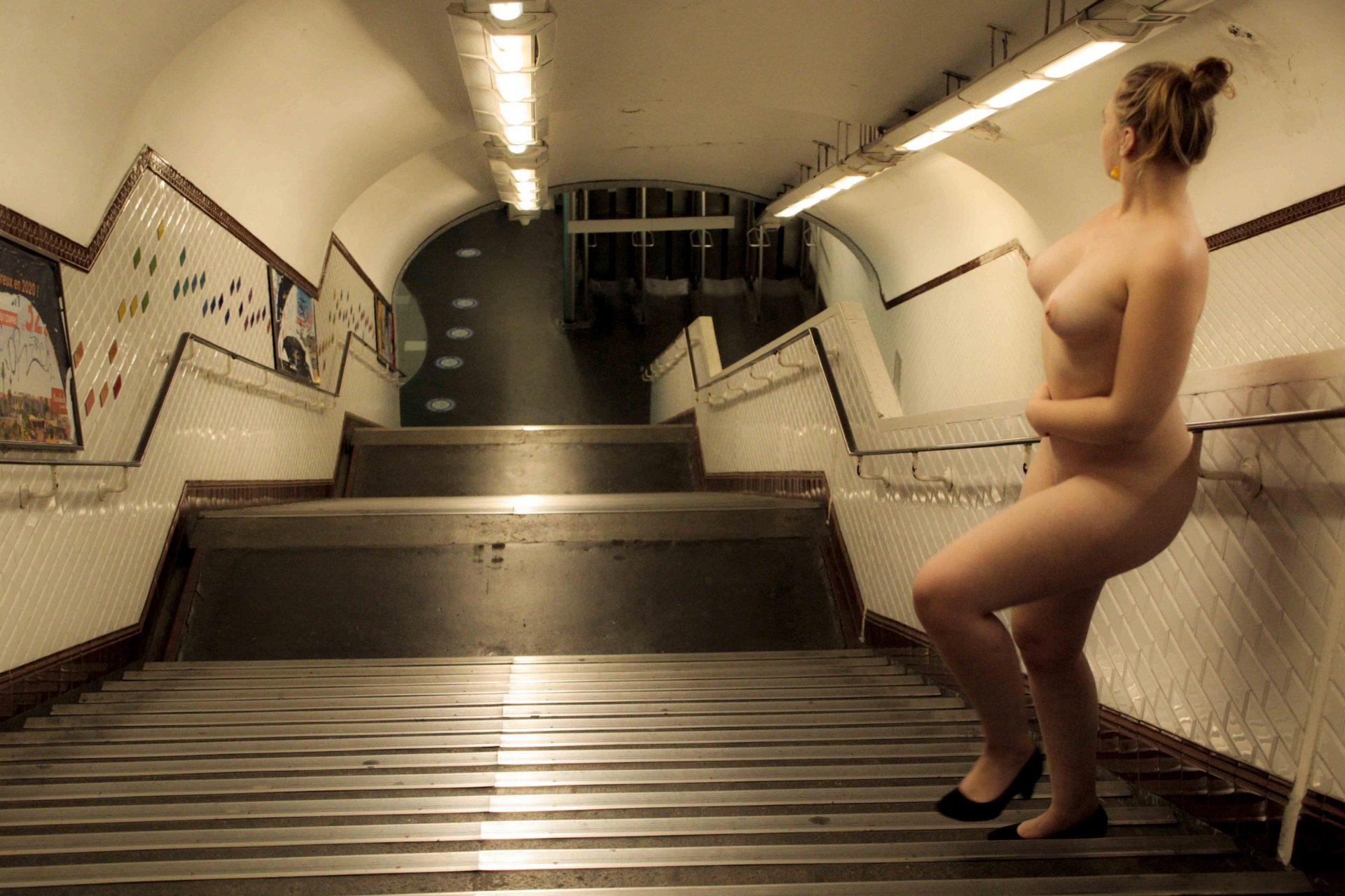 """L'escalier, une photo de la collection """"Performance"""" par Les Chevaliers Photographes."""