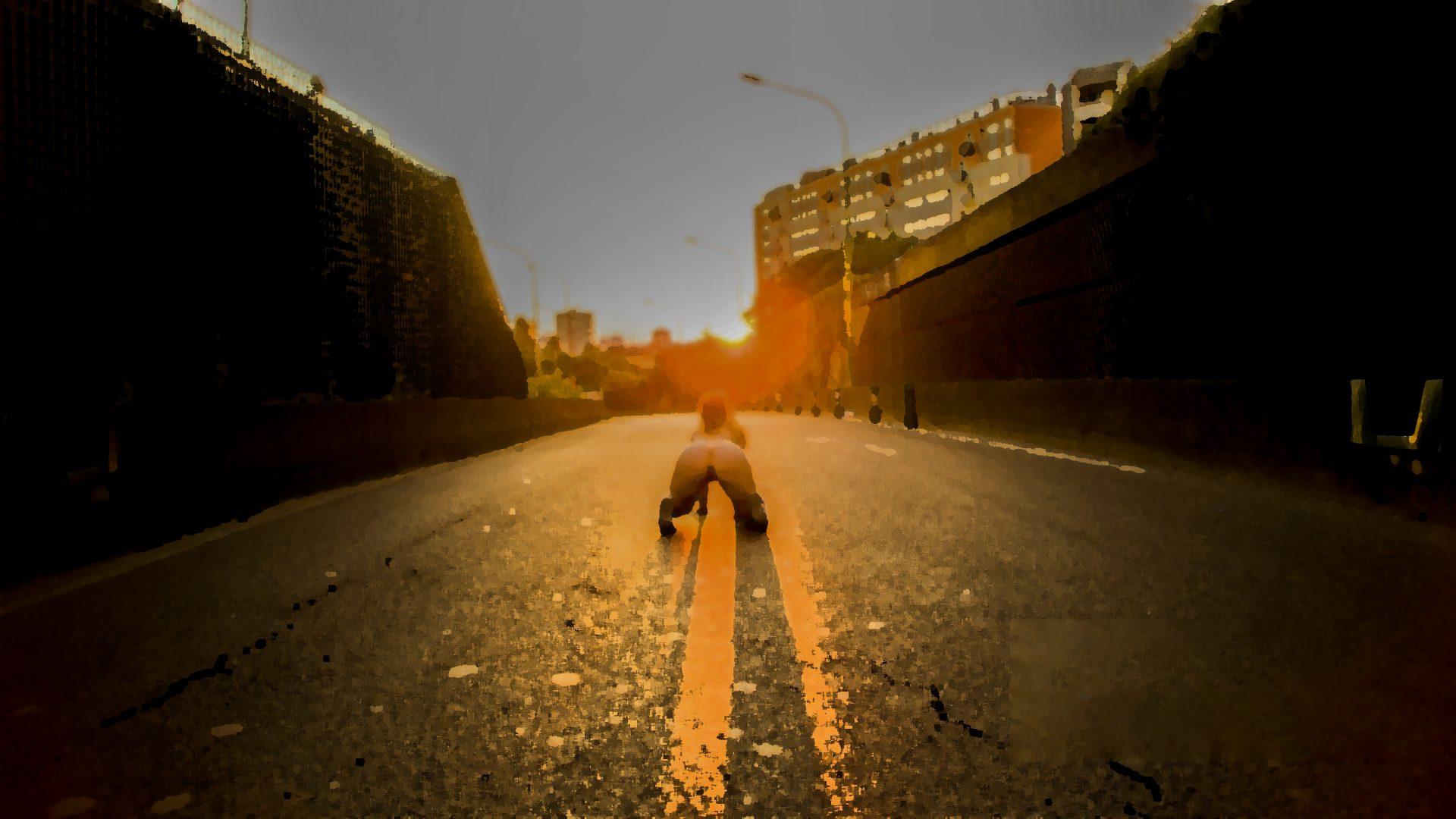 """Le soleil et la lune, une photo de la collection """"Art of Street Sex"""" par Les Chevaliers Photographes."""