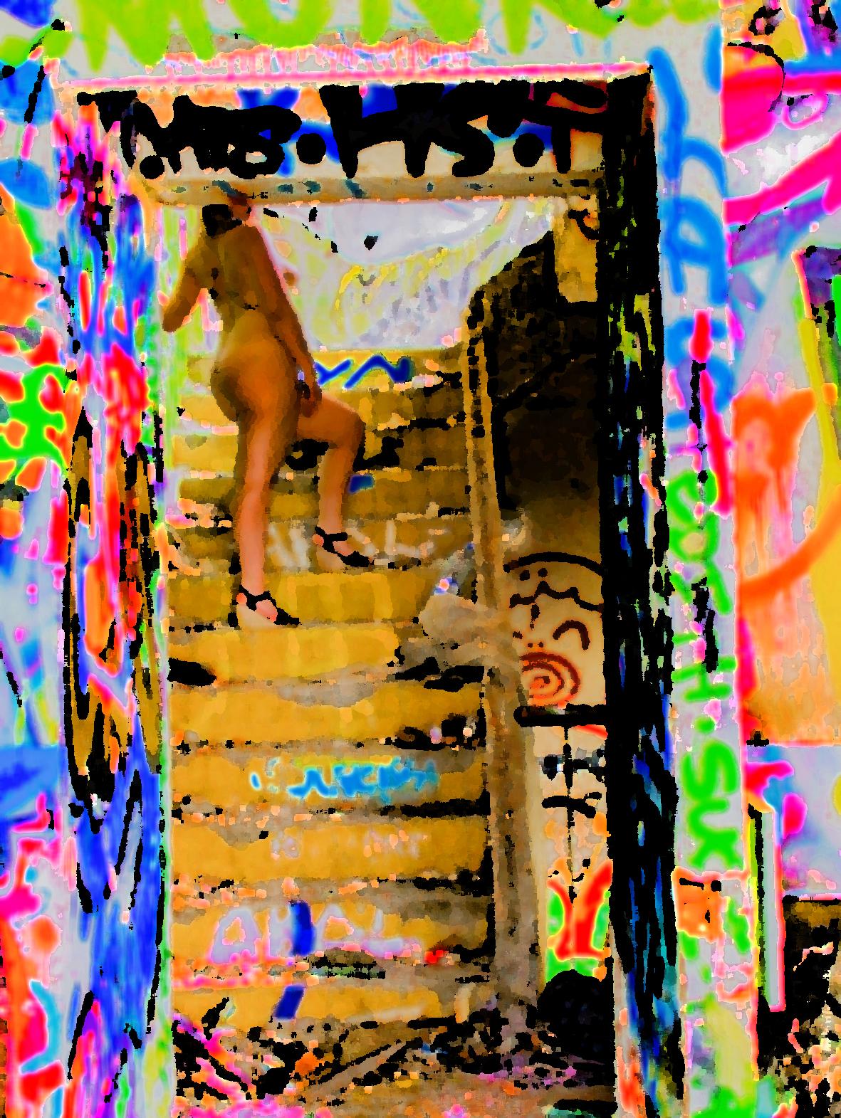 """Invitation, une photo de la collection """"Art of Street Sex"""" par Les Chevaliers Photographes."""
